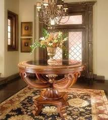 amazing of design for round foyer tables ideas entry foyer table spring entry table with vintage pieces