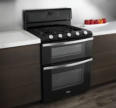 whirlpool wgg755s0bh 30 inch freestanding gas double oven range Whirlpool Double Oven Wiring Diagram whirlpool wgg755s0bh lifestyle view (black) whirlpool double oven installation manual