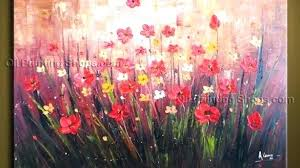 floral paintings on canvas poppy artwork beautiful design poppy wall art contemporary floral painting flowers artwork on poppy wall art stickers with floral paintings on canvas poppy artwork beautiful design poppy wall