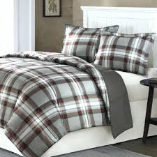 inspiration plaid flannel duvet cover king buffalo red see