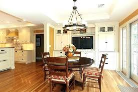 clarissa chandelier bronze dining room glass drop