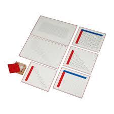 Mathematics Operations Montessori Materials 4 Sale