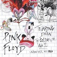 front cover back cover pink floyd tearing down the coliseum wall  on pink floyd the wall cover artist with pink floyd tearing down the coliseum wall the nassau coliseum