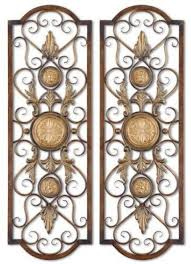 decorative wrought iron wall panels