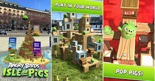Angry Birds AR Game, Isle Of Pigs, Now Available On Android