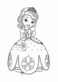 Small Picture Coloring Pages Princess Coloring Pages Printable Disney Princess