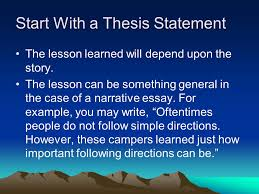 the middle school narrative essay it differs from a simple story 8 start