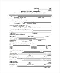 26 Free Rental Application Forms