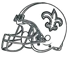 Printable Nfl Helmet Coloring Pages At Getdrawingscom Free For