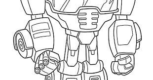 Transformers Rescue Bots Colouring Pages At Getcoloringscom Free