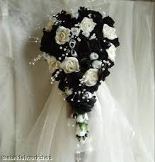 black and white wedding flowers the wedding specialiststhe Wedding Bouquets Black And White black and white wedding flowers black and white silk wedding bouquets