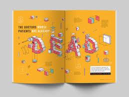 Flux Design Competition The Doctors Magazine Spread Farrah Yoos Portfolio