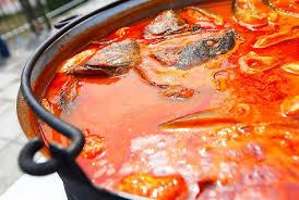 Slikovni rezultat za riblji paprikaš