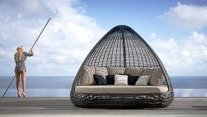 relaxing furniture. Outdoor Furniture For Relaxing - Rattan Lounge Beds By Skyline Designs N
