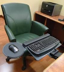 chair keyboard tray. zeropoint keyboard \u0026 mouse tray with negative angle for ergonomics. \u201c chair