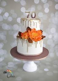 70th Cake Designs 70 Years Loved 70 Years Loved A Birthday Cake For A 70 Years