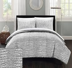 design simple conley blue pc queen comforter set com chic home piece new faux fur