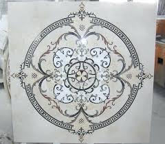 waterjet wonders kitchen water jet cut tile designs with medallions wonders tile floor medallions