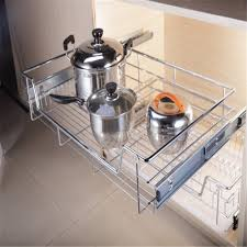 Online Buy Wholesale Stainless Steel Kitchen Pantry Metal Pull Out