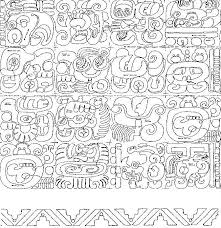 Mayan Patterns Interesting Mayan Glyphs 48 Pictogram MeadowLyon Designs