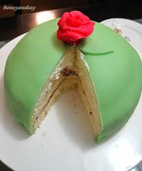 Princesstårta Swedish Princess Cake Honeyandsoy Food Adventures