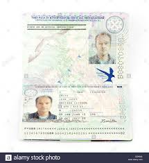 A European 53435994 Alamy with Biometric Kingdom The - Stock Photo 2013 Passport For Union United