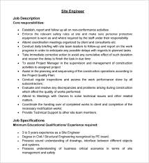 Civil Engineer Job Description