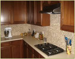forte colorful slate tile backsplash kitchen
