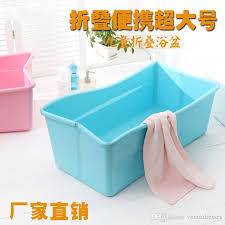 2018 new hot oversized bathtub newborn infant child folding