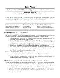 Business Analyst Resumes Templates Senior Business Analyst Resume