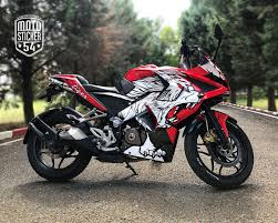 Pulsar Sticker Design Bajaj Pulsar Rs200 Tiger Design Sticker Kit Motosticker54