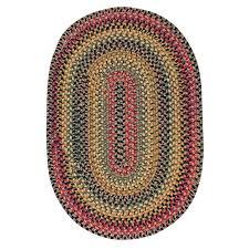 homee decor wool braided rug budapest 2 3 x 3 9 oval