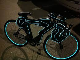 Bmx Bike Lights Tron Bike Lights Up Tron Bike Light Cycle Tron Light Cycle
