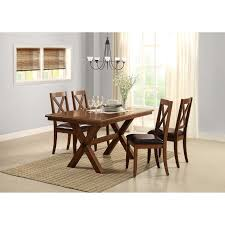 Small Dining Table Set Compact Round Wood 4 Chairs Kitchen Modern