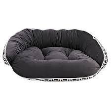 bowser crescent dog bed