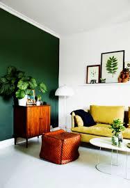 Full Size of Living Room:nice Simple Modern Dark Green Walls In Living Room  Ideaas ...