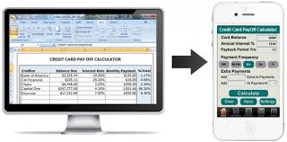 Credit Card Payoff Schedule How Converting Credit Card Payoff Calculator To Mobile App Can Help