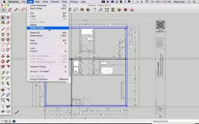 sketchup tutorial draw plan from pdf 17
