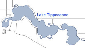 Geist Reservoir Depth Chart Tippecanoe Lake Wikipedia