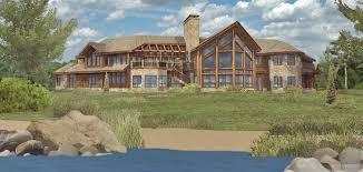Golden Eagle Log And Timber Homes Floor Plan Details Acadia 6545ALLarge Log Cabin Floor Plans
