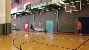 Basketball Tracker Shot Tracker Basketball Drill Continuous Drift Left Corner