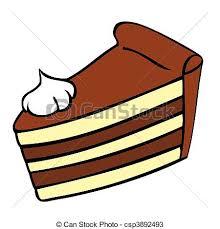 piece of chocolate cake clipart.  Chocolate Chocolate Cake Slice  Csp3892493 To Piece Of Clipart E