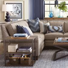 Harlan Large L-Shaped Sectional   Living Room   Bassett Furniture