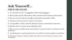 ask yourself true or false 1 it is possible to have an ap without