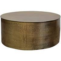 Free delivery and returns on ebay plus items for plus members. Buy Hammered Drum 95cm Coffee Table Online Prices In Australia Myshopping Com Au