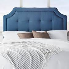 blue upholstered headboard. Contemporary Blue Quickview On Blue Upholstered Headboard T