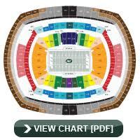 Metlife Stadium Seating Chart Metlife Stadium Seating Chart Pdf