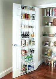 Lowes Spice Rack Simple Over The Door Pantry Organizer Lowes Door Spice Rack Cabinet