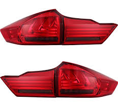 This Item Is Honda City Tail Lampthe Color Is Smoked Vland