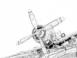 Coloriage Helice Imprimer Pour Les Enfants Dessin Avion Ancien